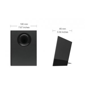Logitech Z533, 2.1, 60W RMS, Black (снимка 2)