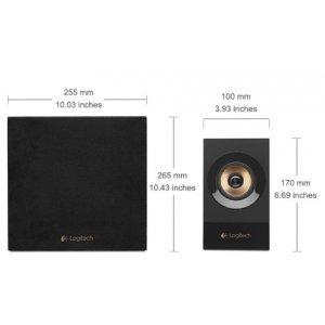 Logitech Z533, 2.1, 60W RMS, Black (снимка 3)