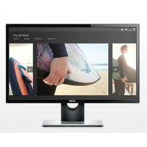 """Монитор Dell 23.8"""" SE2416H, 1920x1080, IPS LED, 6ms, 250cd/m2, HDMI, VGA, Black and Grey (снимка 4)"""