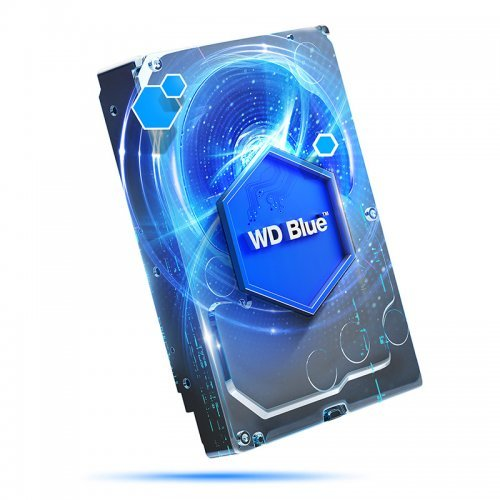 Western Digital 6TB Blue WD60EZRZ, SATA3, 64MB, 5400rpm (снимка 1)