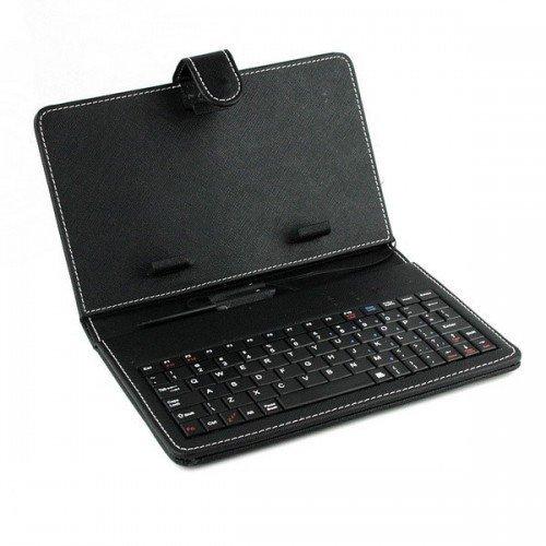 "Клавиатура USB с калъф за таблет 9"" K-02 Black (снимка 1)"