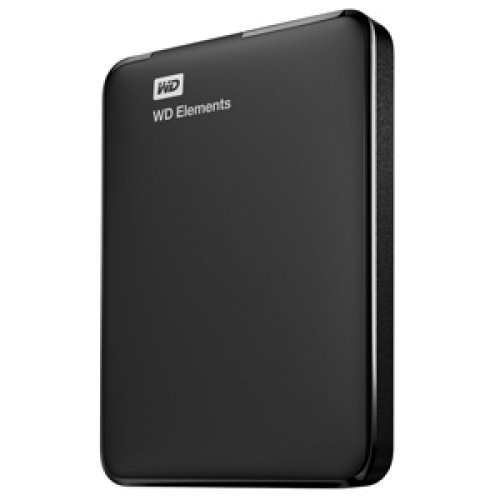 "Western Digital Elements, 750GB, 2.5"", USB3.0, WDBUZG7500ABK (снимка 1)"
