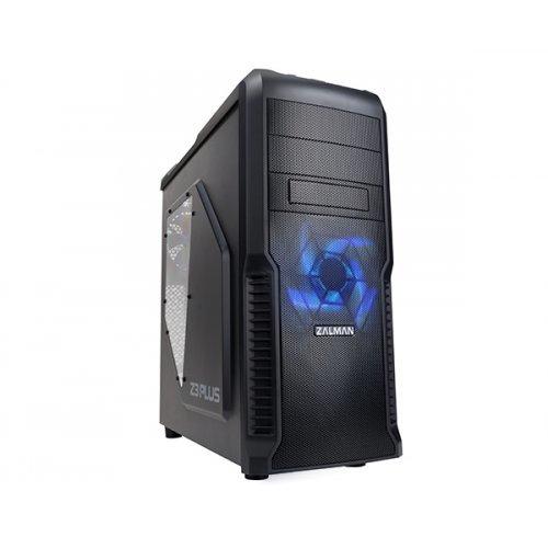 Zalman Z3 Plus, ATX MID Tower, USB3.0, Black (снимка 1)