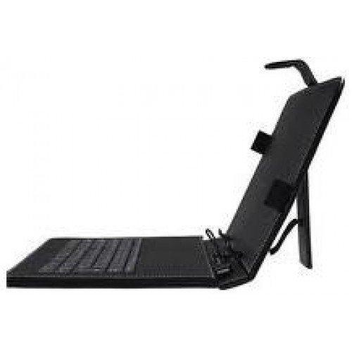 """Клавиатура USB с калъф за таблет 10"""" P1019 Black (снимка 1)"""