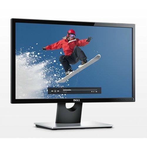 """Монитор Dell 21.5"""" SE2216H, 1920x1080, VA LED, 12ms, 250cd/m2, HDMI, VGA, Black and Grey (снимка 1)"""