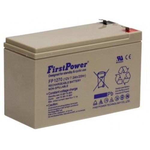 Батерия за UPS FirstPower 12V 7Ah (снимка 1)