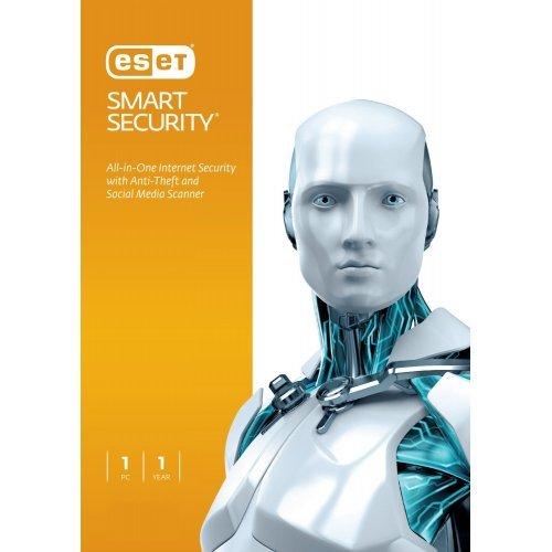 ESET Smart Security OEM, 1 User for 1 year, (Продава се в комплект с хардуер или услуга) (снимка 1)