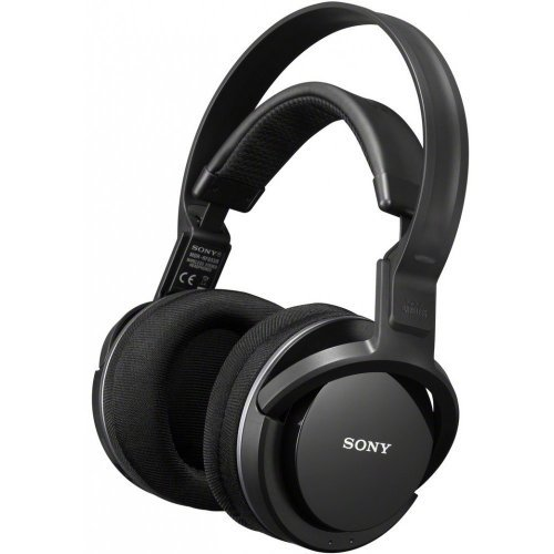 Слушалки Sony Wireless Headset MDR-RF855RK, Headphone type: Circum Aural, 40mm Dome Type driver unit, 10Hz - 22KHz, FM Stereo Frequency Modulation, Auto Power On/Off (снимка 1)