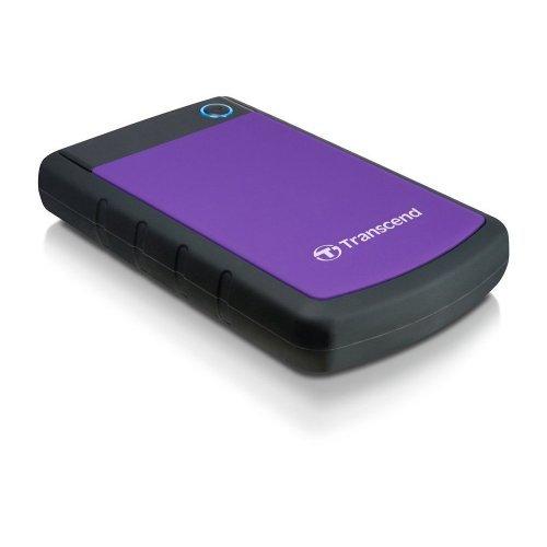 """Transcend StoreJet 25H3P, 2TB, 2.5"""", USB3.0, TS2TSJ25H3P (снимка 1)"""