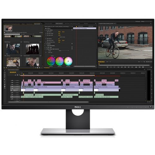 """Монитор Dell 27"""" UP2716D, 2560x1440, IPS LED, 6ms, 300cd/m2, 1000:1, DisplayPort, 2x HDMI MHL, USB3.0 Hub, Height Adjustable, Pivot, Swivel, Black (снимка 1)"""
