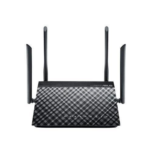Asus RT-AC1200G Plus, Dual-band wireless-AC1200 router (снимка 1)