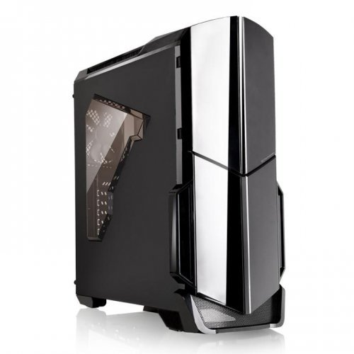 Thermaltake Versa N21 Window, Mid-tower Chassis, Black (снимка 1)