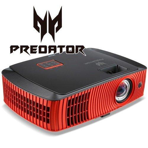 Acer Predator Z650 - MR.JMS11.001, 1920x1080, DLP, 3D Ready, 2200 ANSI Lumens, 20000:1, HDMI, 2x 10W Speakers, Bag (снимка 1)