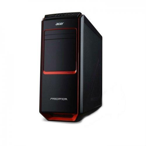 Acer Predator AG3-605 - DT.SQYEX.182, Intel Core i7-4790, 8GB 1600MHz DDR3L, nVidia GTX 970 4GB, 120GB SSD, 2TB HDD, DVD, 802.11n, USB3.0, Card reader, FreeDos (снимка 1)