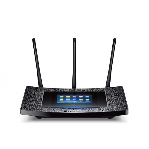 TP-Link RE590T, AC1900 Touch Screen Wi-Fi Range Extender (снимка 1)