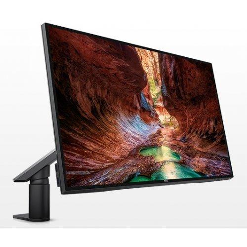 """Монитор Dell 27"""" U2717DA, 2560x1440, IPS, 8ms, 350cd/m2, 1000:1, DisplayPort v1.2a, Mini DisplayPort, 2x HDMI MHL, DisplayPort Out MST, USB3.0 Hub, Height Sdjustable, Tilt, Pivot, Swivel, Black (снимка 1)"""