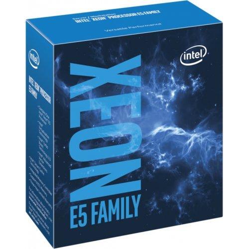 Процесор Intel Eight Core Xeon E5-2620V4 2.1 GHz (3.00GHz with Turbo), LGA2011-V3, 14nm, 20MB Cache, 85W, 64 bit, DDR4 RAM support 1600/1866/2133Mhz, No VGA, Box (снимка 1)