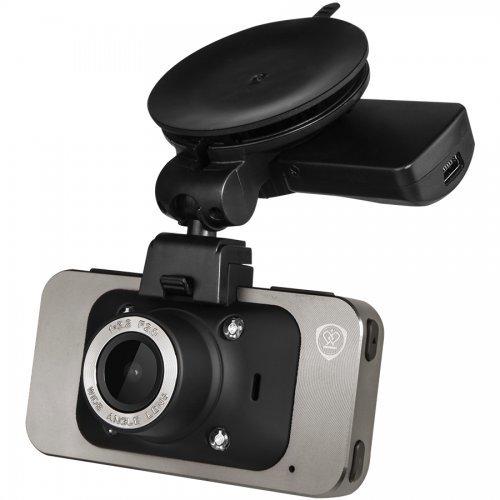 """Prestigio RoadRunner 545GPS, Car Video Recorder, 1920x1080 at 30fps, 2.7"""" Screen, GPS, Gun Metal (снимка 1)"""