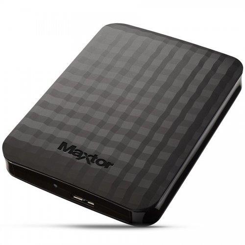 """Seagate Maxtor M3 1TB, 2.5"""", USB3.0, Black (снимка 1)"""