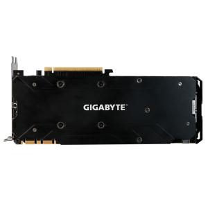 Видео карта nVidia Gigabyte GV-N1080WF3OC-8GD, GTX 1080 WINDFORCE OC 8GB, GDDR5X, 256bit, PCI-E 3.0, Dual-link DVI-D, HDMI-2.0b, 3x DisplayPort 1.4 (снимка 4)