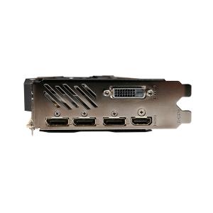 Видео карта nVidia Gigabyte GV-N1080WF3OC-8GD, GTX 1080 WINDFORCE OC 8GB, GDDR5X, 256bit, PCI-E 3.0, Dual-link DVI-D, HDMI-2.0b, 3x DisplayPort 1.4 (снимка 6)
