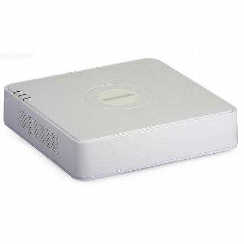 Hikvision DS-7108HGHI-F1, 8-канален четирибриден HD-TVI/AHD/CVI цифров рекордер; поддържа 8 HDTVI/AHD/CVI или аналогови камери; компресия H.264/H.264+ (снимка 1)