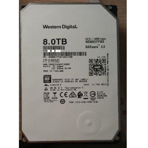 Твърд диск Western Digital 8TB Red PRO WD8001FFWX, SATA3, 128MB, 7200rpm (снимка 1)