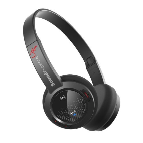 Слушалки Creative Sound Blaster Jam, Bluetooth Ultra Light Wireless Headset, 32mm Neodymium drivers, Bluetooth 4.1, NFC, Built-in remote control, built in Lithium Ion Battery (снимка 1)