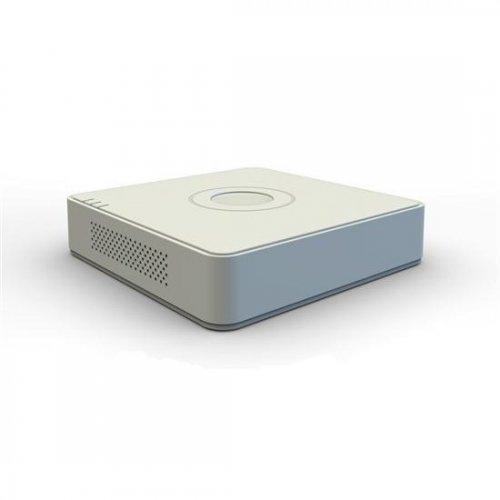 Hikvision DS-7104HGHI- F1/N, 4-канален хибриден HD-TVI/AHD цифров рекордер; поддържа 4 HD-TVI/AHD или аналогови камери; компресия H.264 (снимка 1)