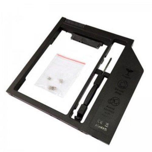 Кади за лаптоп DVD-ROM SATA to SATA 2nd HDD Caddy Plastic 12.7mm (снимка 1)