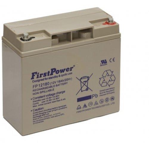 Батерия за UPS FirstPower 12V 18Ah (снимка 1)