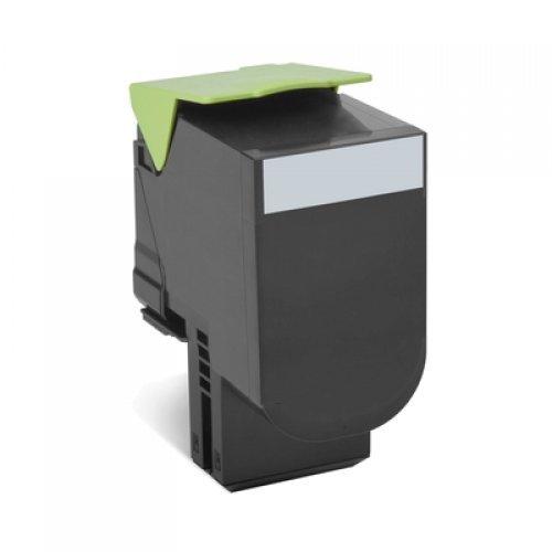 Lexmark 80x Black Toner Cartridge High Return, 80C2HK0 (снимка 1)
