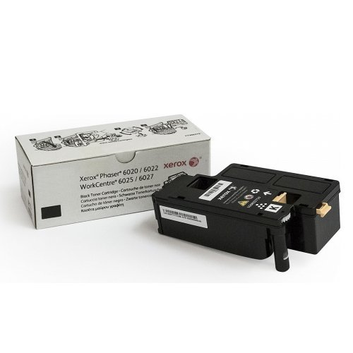 Xerox Black Toner, Phaser 6020/6022, WorkCentre 6025/6027 (Yield 2000) DMO, 106R02763 (снимка 1)