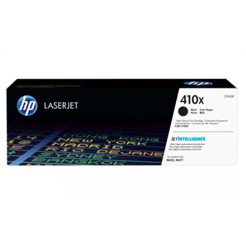 HP 410X High Yield Black Original LaserJet Toner Cartridge, CF410X (снимка 1)