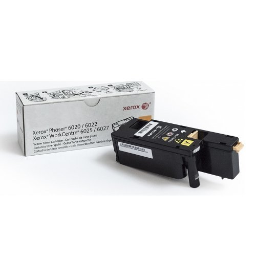 Xerox Yellow Toner, Phaser 6020/6022, WorkCentre 6025/6027 (Yield 1000) DMO, 106R02762 (снимка 1)