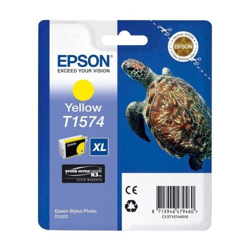 Epson T1574 Yellow for Epson Stylus Photo R3000, C13T15744010 (снимка 1)