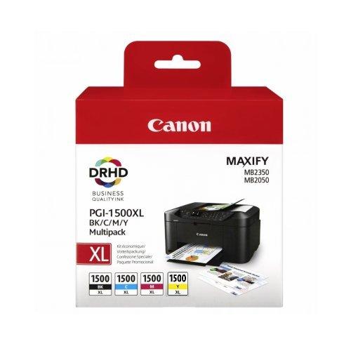 Canon 1500XL BK/C/M/Y Multi-Pack, BS9182B004AA (снимка 1)