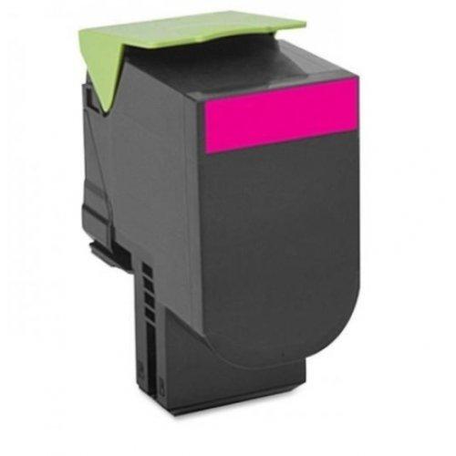 Lexmark 802SM Magenta Standard Yield Return Program Toner Cartridge, 80C2SM0 (снимка 1)