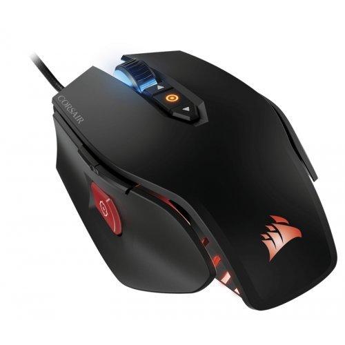 Мишка Corsair M65 PRO RGB FPS PC Optical Gaming Mouse, 100 dpi - 12000 dpi, 125 - 1000 MHz Report rate, 3 Zone RGB light, Black (EU version) (снимка 1)