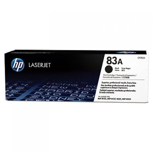HP 83A Black LaserJet Toner Cartridge, CF283A (снимка 1)