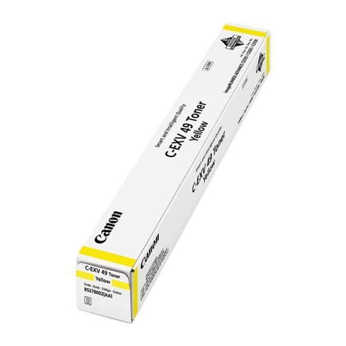 Canon C-EXV 49 for IRAC33xx, yellow,8527B002AA (снимка 1)