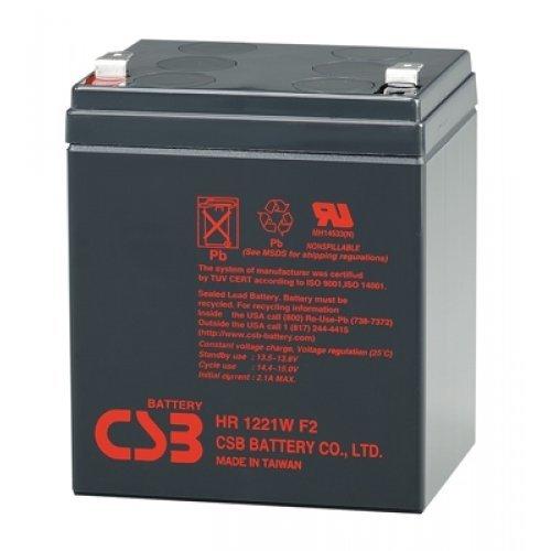 Батерия за UPS CSB 12V 5.3Ah, HR1221W battery (снимка 1)