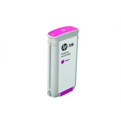 HP 728 130-ml Magenta DesignJet Ink Cartridge, F9J66A (снимка 1)