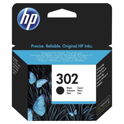 HP 302 Black Original Ink Cartridge, F6U66AE (снимка 1)