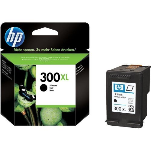 HP 300XL Black Ink Cartridge, CC641EE (снимка 1)