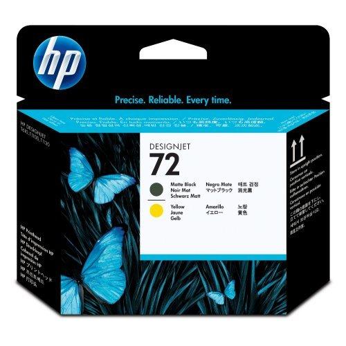 HP 72 Matte Black and Yellow Printhead, C9384A (снимка 1)