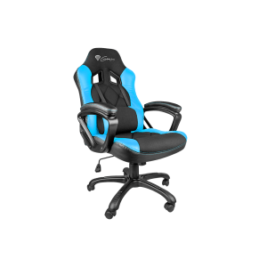 Natec Genesis SX33 Gaming Chair, Геймърски стол, Black/Blue (снимка 1)
