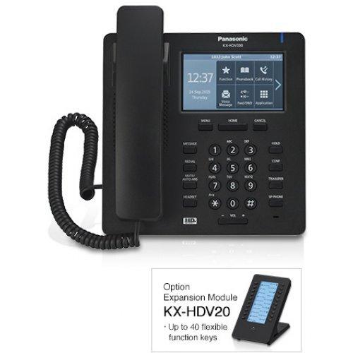 Panasonic KX-HDV330, 12 SIP accounts (снимка 1)