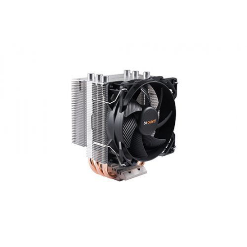 Въздушно охлаждане на процесор Be Quiet! Pure Rock Slim, BK008, Socket compatibility: Intel: 1150/ 1151/ 1155/ 1156, AMD: AM2(+)/ AM3(+)/ AM4/ FM1/ FM2(+) (снимка 1)