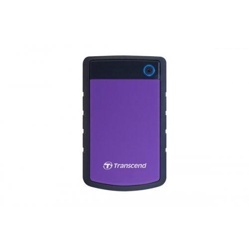 """Външен твърд диск Transcend StoreJet 25H3P, 4TB, 2.5"""", USB3.0, TS4TSJ25H3P (снимка 1)"""